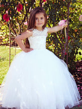 First Communion Dresses Lace Boho Flower Girl Dress ALD039