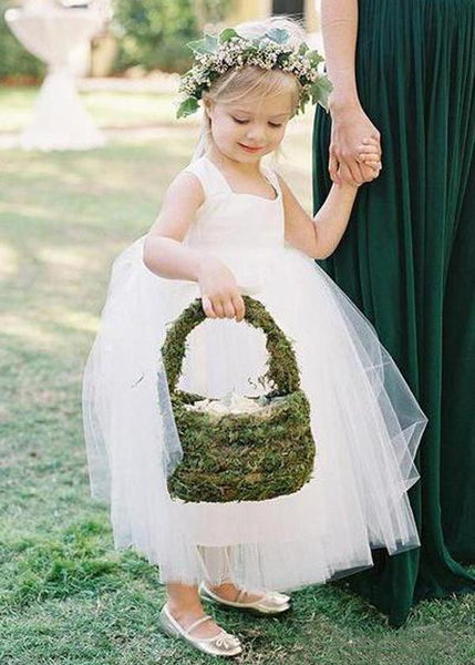 Aprildress Baby Flower Girl Dresses Puffy Tutus Skirt for Wedding Party ALD102