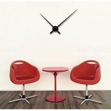Load image into Gallery viewer, NeXtime - Wall clock – 48 x 3 cm – Aluminum - Black - 'Small Hands'
