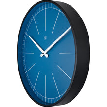 Load image into Gallery viewer, nXt - Wall clock - Ø 40 cm - Plastic - Blue - 'Ethan'