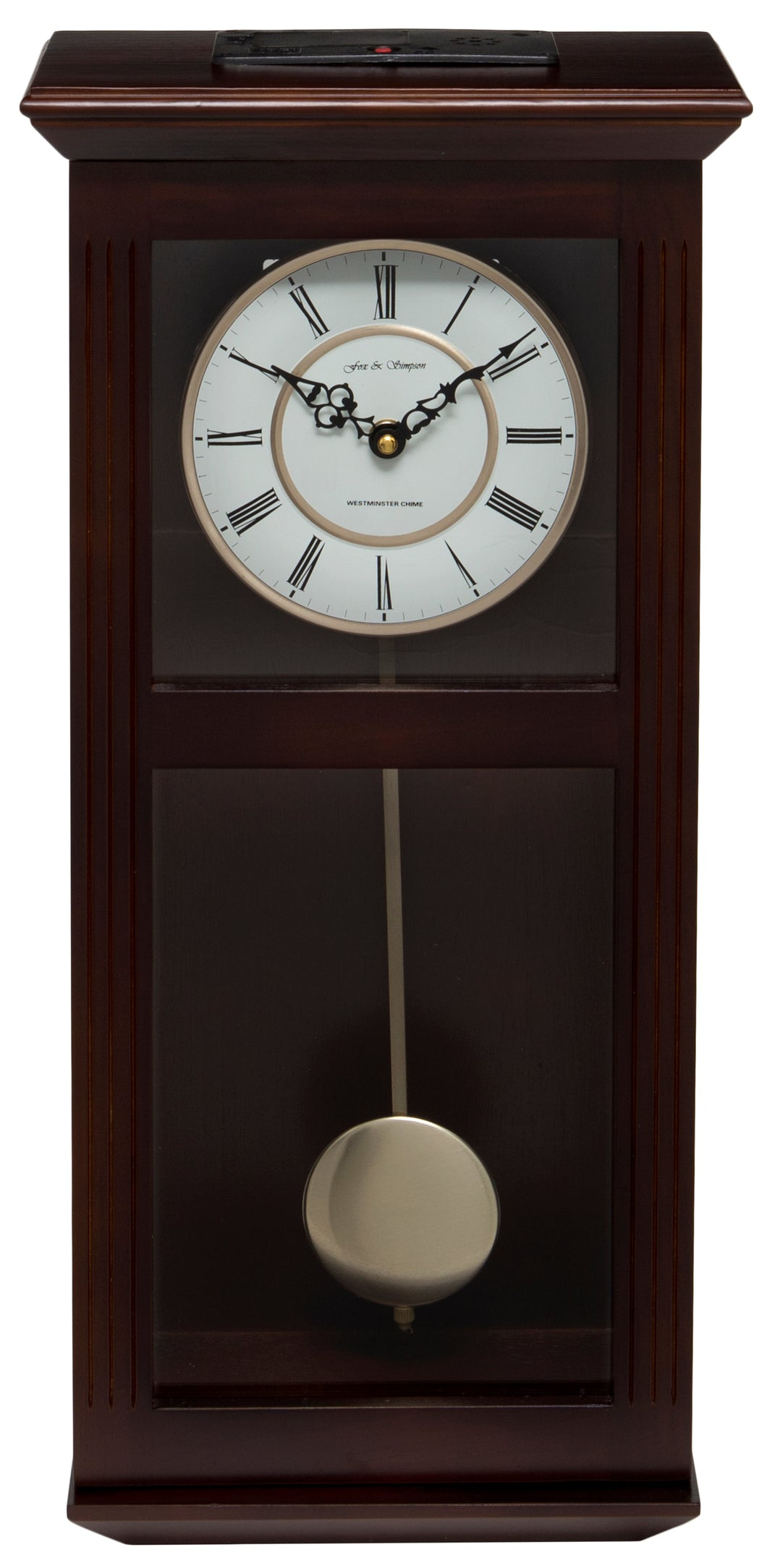 Ashton Pendulum Clock Front View