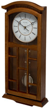 Load image into Gallery viewer, Kensington Oak Pendulum Clock Side View
