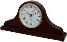 Load image into Gallery viewer, Horseway Napoleon Mantel Clock Side View