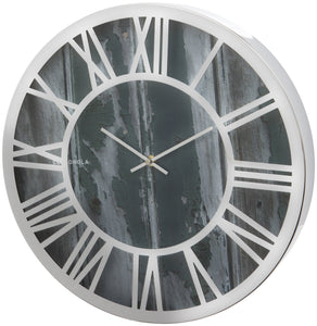 Wood Effect 40cm Wall Clock