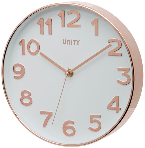 Bakewell Rose Gold Wall Clock
