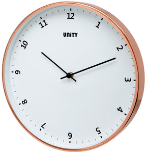 Plymouth White Dial Wall Clock