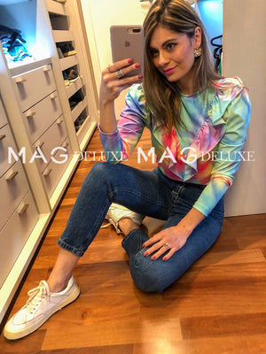 Blusa Tie Dye Babados | Sunset - MAG Deluxe