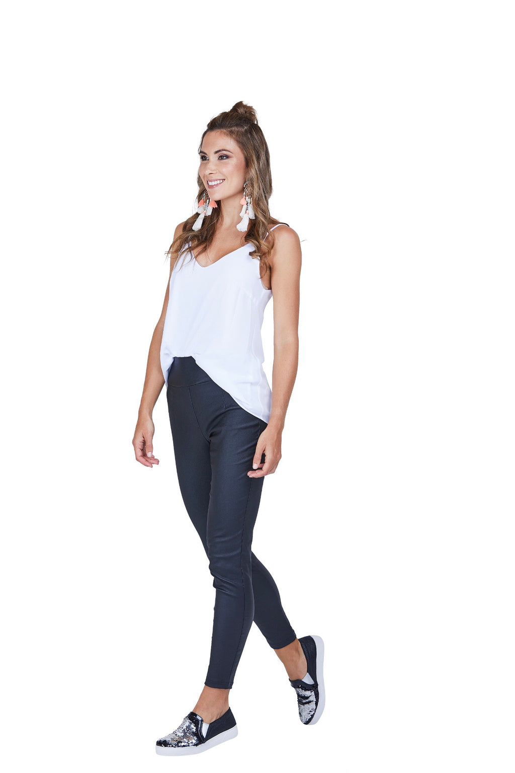 PRETTY BASIC - Sandy Pant Black
