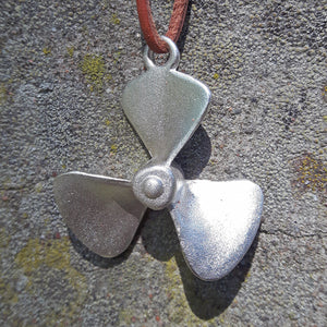 Boat Propeller Necklace