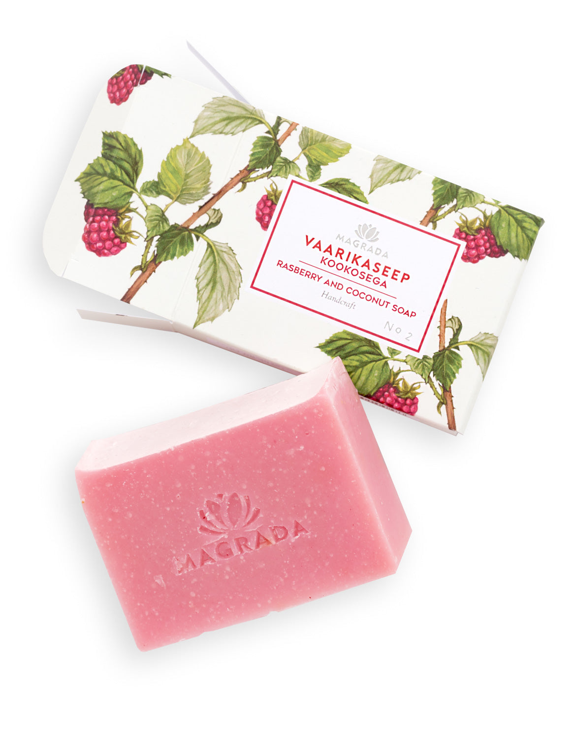 Raspberry and Coconut Soap