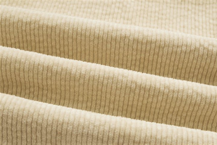 Cream Corduroy - A Fall/Winter Essential