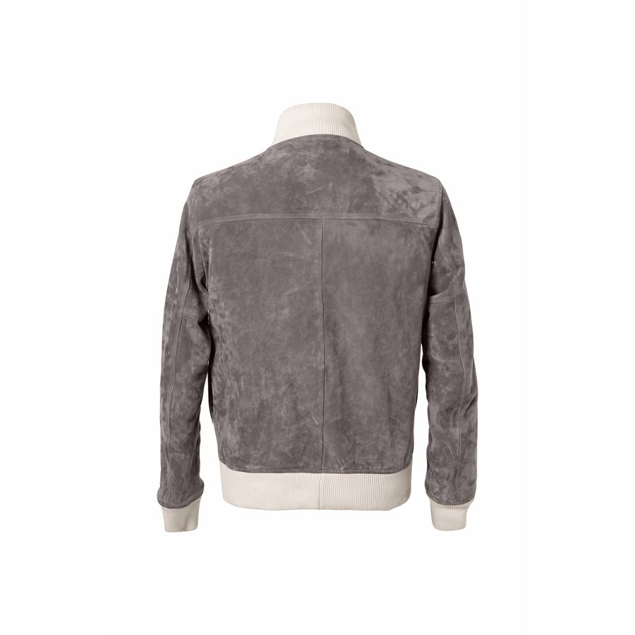 Grant A-1 Suede Blouson MTO - Craftsman Clothing Ltd.