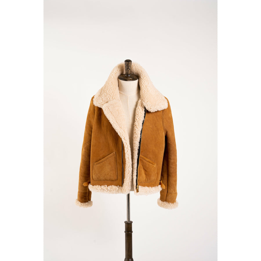 B-3 Shearling Flight Jacket MTO - Craftsman Clothing Ltd.