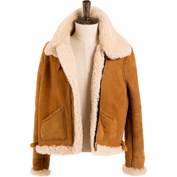 B-3 Shearling Flight Jacket MTO