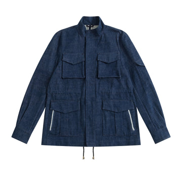 Japanese Denim De Niro M65 Field Jacket - Craftsman Clothing Ltd.