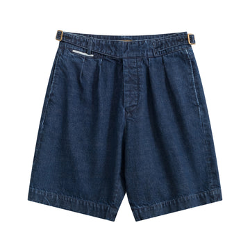 Japanese Denim Gurkha Shorts - Craftsman Clothing Ltd.