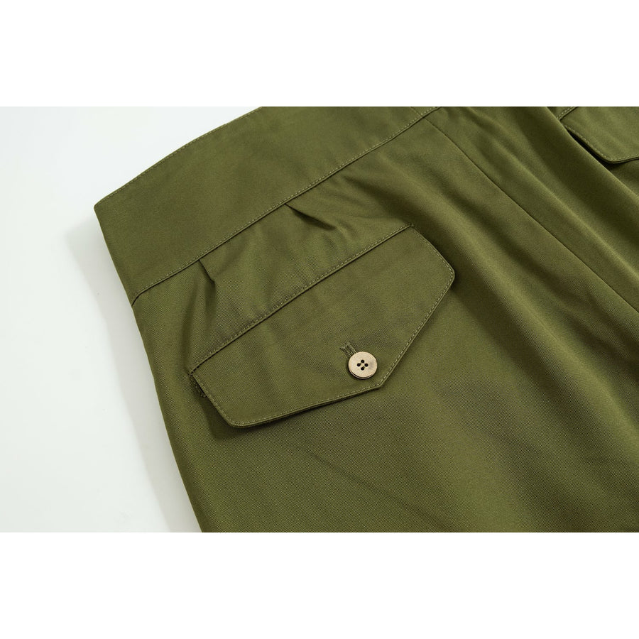 Cortina Green Four Season Cotton Gurkha Pants - Craftsman Clothing Ltd.