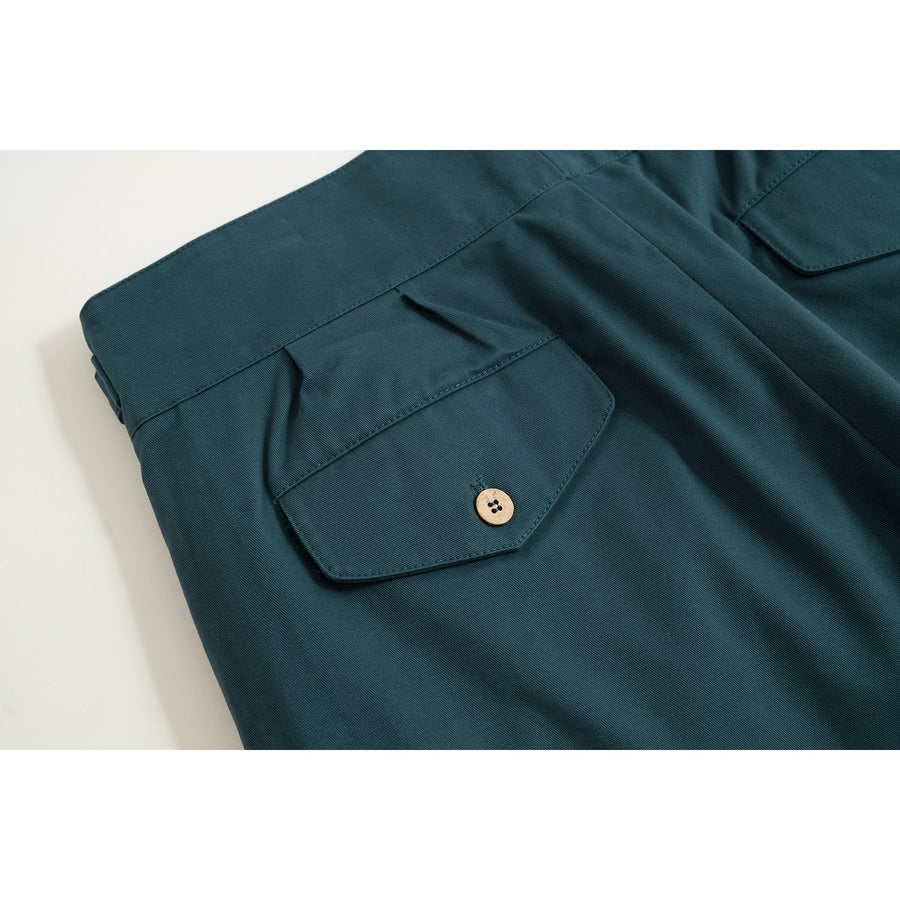 Cornflower Blue Four Season Cotton Gurkha Pants - Craftsman Clothing Ltd.