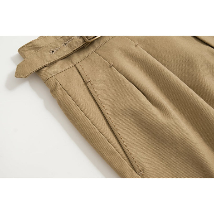 Khaki Tan Four Season Cotton Gurkha Pants - Craftsman Clothing Ltd.
