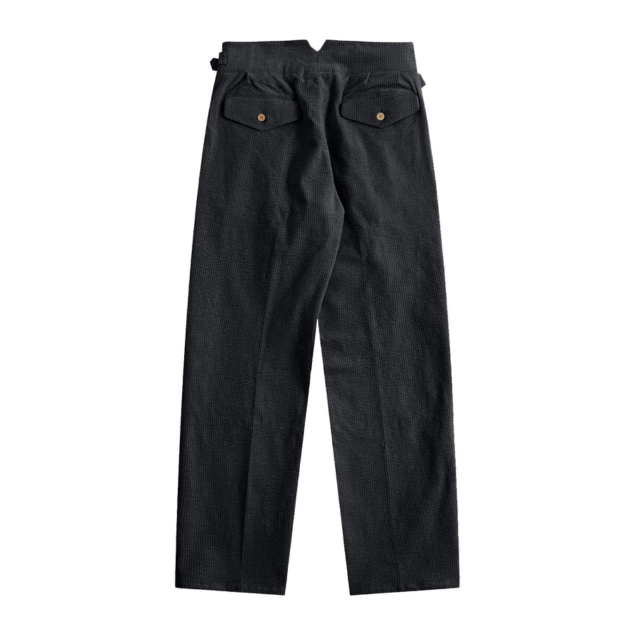 Sample Sale - Noir Corduroy Gurkha Pants - Craftsman Clothing Ltd.