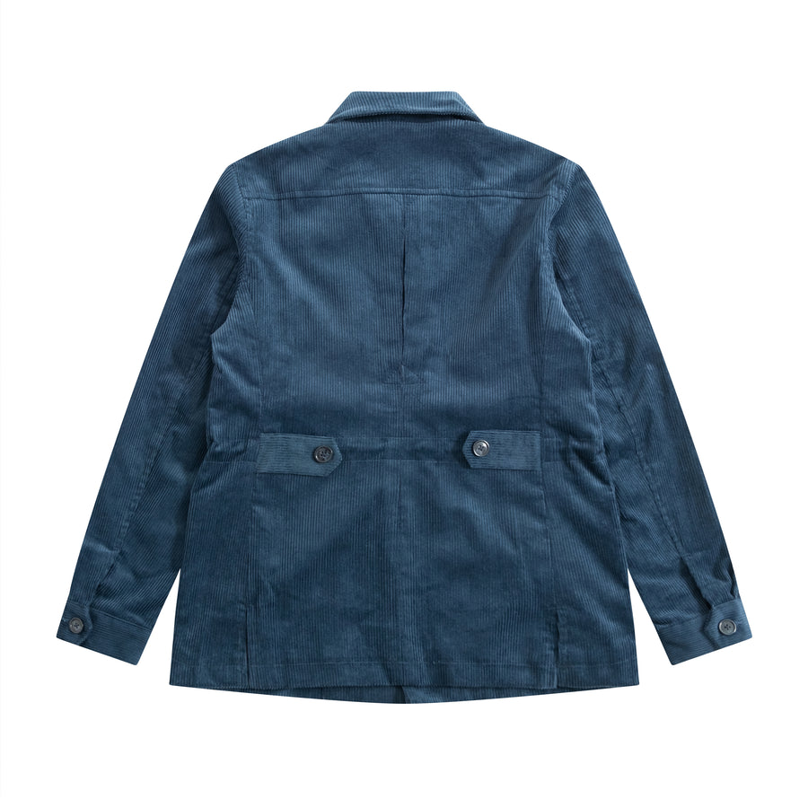 Cornflower Blue Corduroy HEMINGWAY Safari - Craftsman Clothing Ltd.