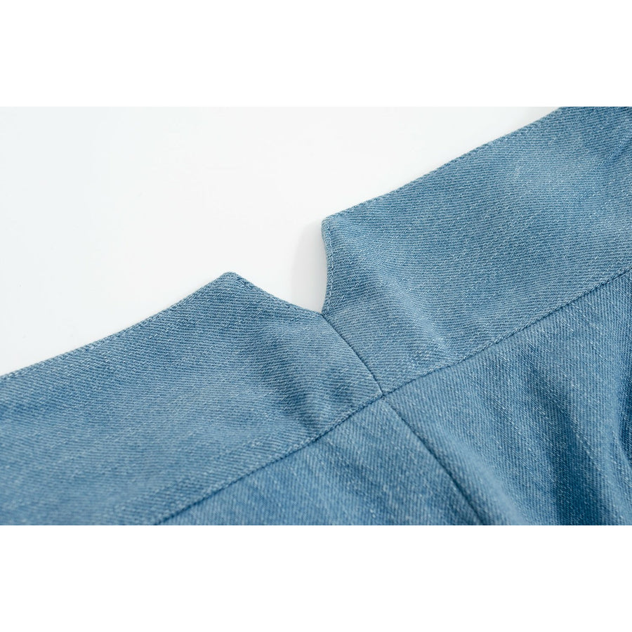 Restocking Soon - Stonewashed Japanese Denim Gurkha Pants - Craftsman Clothing Ltd.