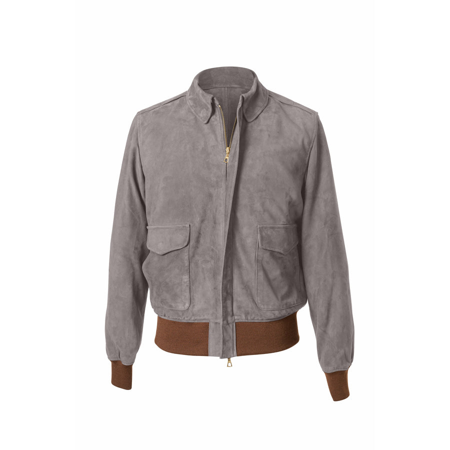 McQueen A-2 Suede Blouson MTO - Craftsman Clothing Ltd.