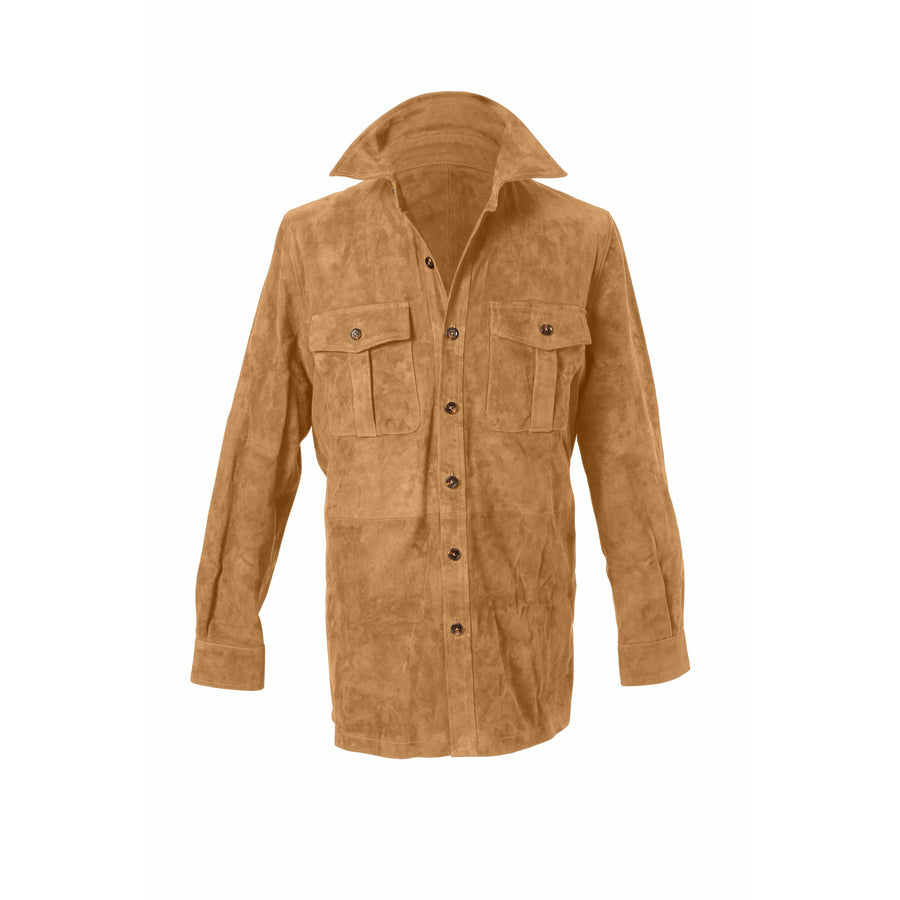 Suede Overshirt MTO - Craftsman Clothing Ltd.