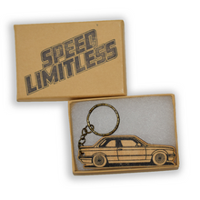 Load image into Gallery viewer, E30 Wood Key Chain