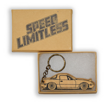 Load image into Gallery viewer, Miata Wood Key Chain