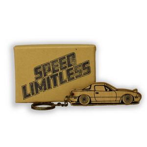Miata Wood Key Chain
