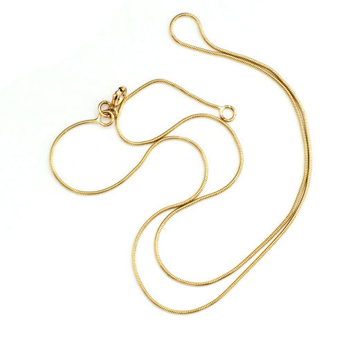"16"", 40cm, 9 Carat Gold Snake Chain"