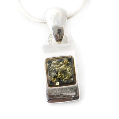 Cubed Green Pendant