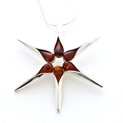 Droplets Star Pendant