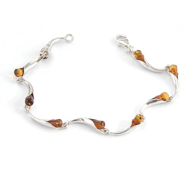 Droplets Twist Bracelet