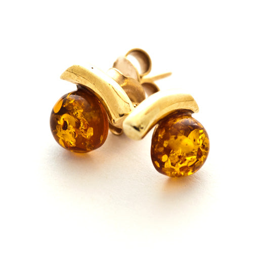 Gold Shoulder Studs