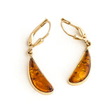 Gold Shoehorn Earrings