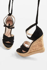 Womens Winona Wedges - Black, Black