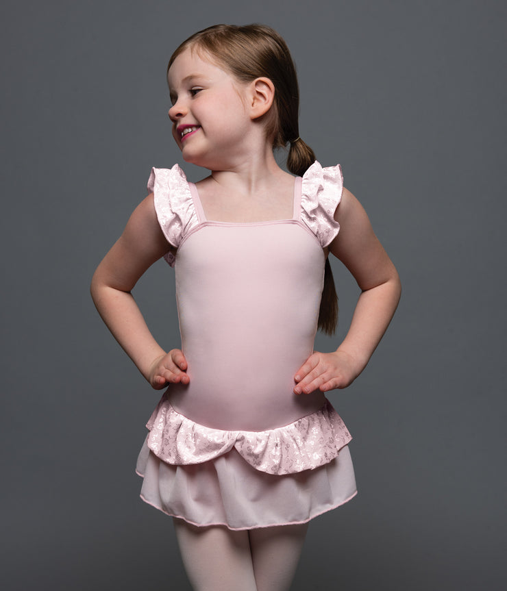 Motionwear - Imogen Skirted Leotard - Child (4430-360) - Pink Mini Flowers *