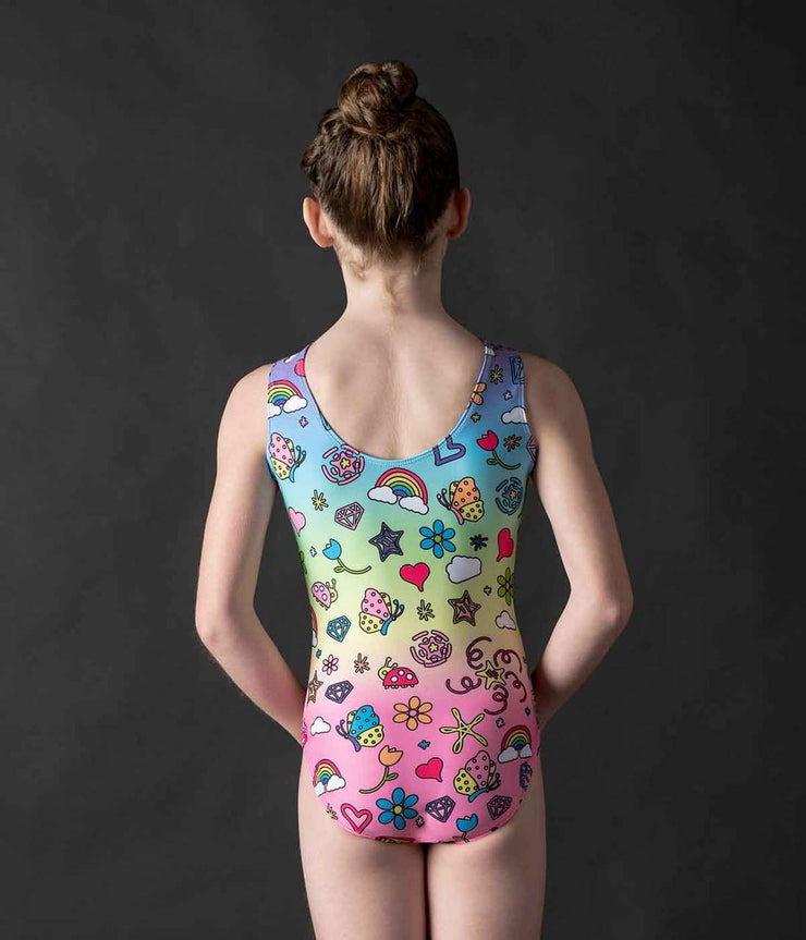 Motionwear - Gym Rainbow Wish Dye Sublimation - Child (1912) - Multi-colored