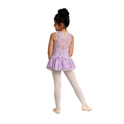 Danz N Motion - Lace Yoke and Back - Child (2736C) - Lavender *
