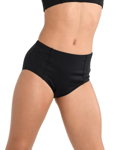 Danz N Motion - In Movement Dance Brief - Child/Adult (2742C/2742A) - Black *