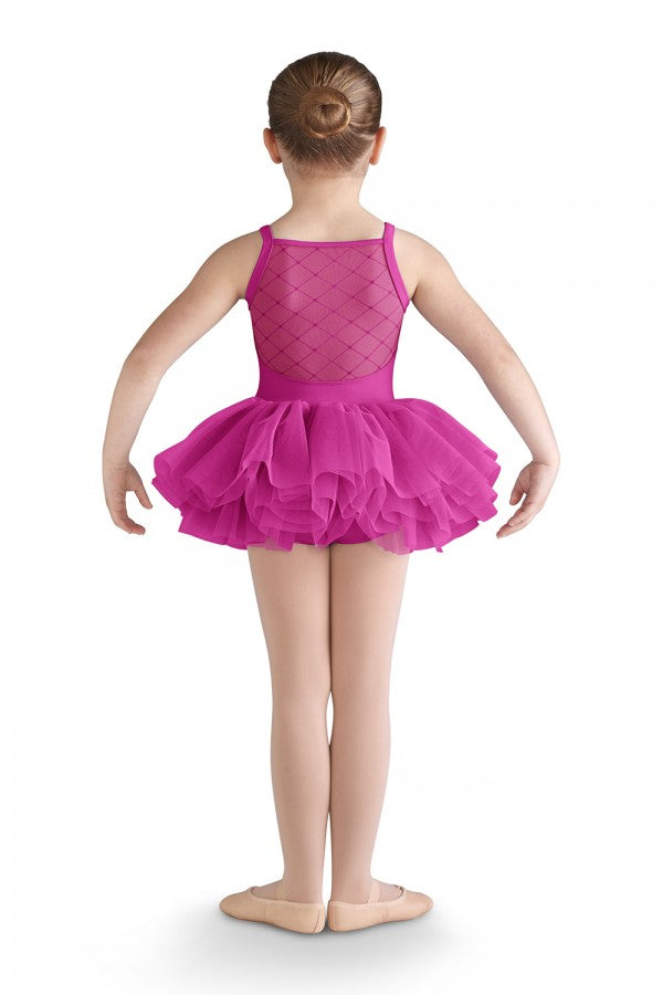 Bloch - Cami Tutu Leotard - Child (CL9565) - Berry