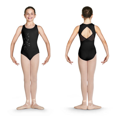 Bloch - Wrap Back Tank Leotard - Child (CL4920) - Black *