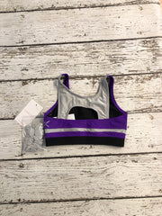 Capezio Stick The Landing Bra Top - Child (11067C) - Purple