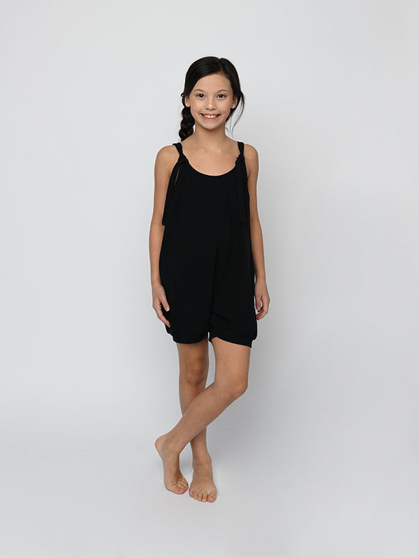 Sugar & Bruno - The Bubble Romper - Child/Youth (D9716) - Black