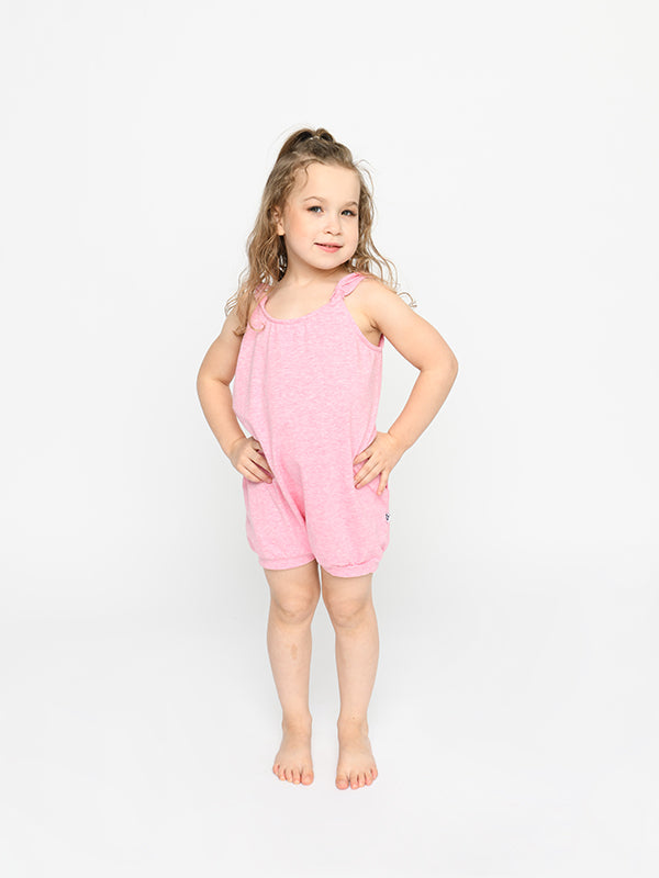 Sugar & Bruno - The Bubble Romper - Child/Youth (D7222/D9721) - Heather Pink #
