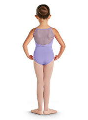 Bloch - Deco Diamante Back Camisole Leotard - Child (CL4847) - Lilac *