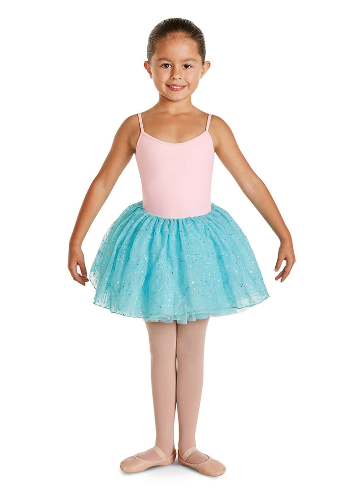 Bloch - Dahlia Tutu Skirt - Child (CR9741-DAL) - Blue Radiance