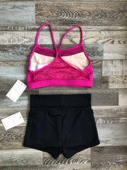 Capezio - Lace Back Bra Top - Adult (11504W) - Very Berry #